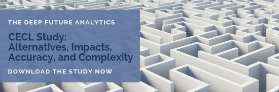 The Deep Future Analytics CECL Study: Alternatives, Impacts, Accuracy, and Complexity