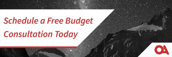 Take the First Steps for Analytics - Schedule a Budgeting Consultation